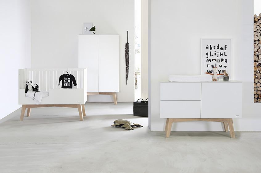 Sixties Blanc / Chêne