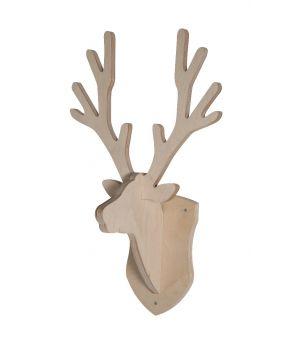 Cabeza de ciervo perchero  - Nature
