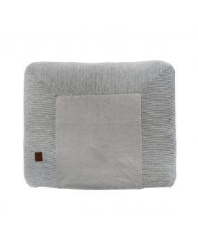 Knitted Gris - Couverture de matelas à langer 80x65