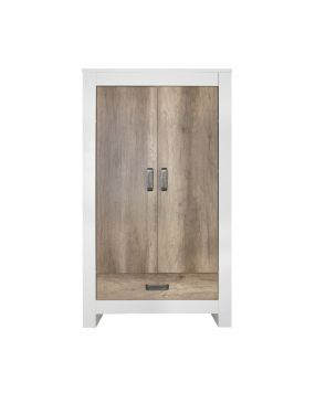 Costa Blanc / Oldwood - Armoire (2 portes)