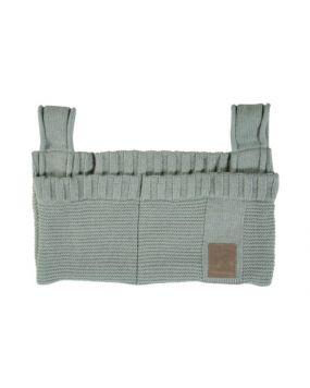 Knitted Stone Green - Sac de rangement