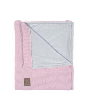 Knitted Rose - Blanchet lit bébé