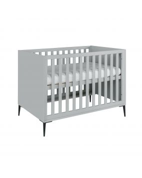 Lasse Grey - Cot bed 70x140
