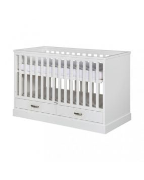 Newport II White - Cot bed 70x140