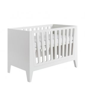 Nikki White - Cot bed 70x140 (white bars)