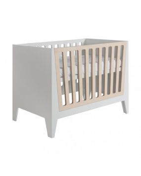 Nikki White - Cot bed 70x140 (natural bars)
