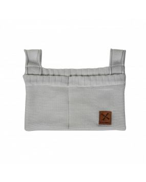 Knitted Gris - Sac de rangement